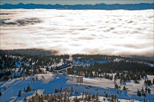 Big White - Spectacular Cloud Cover