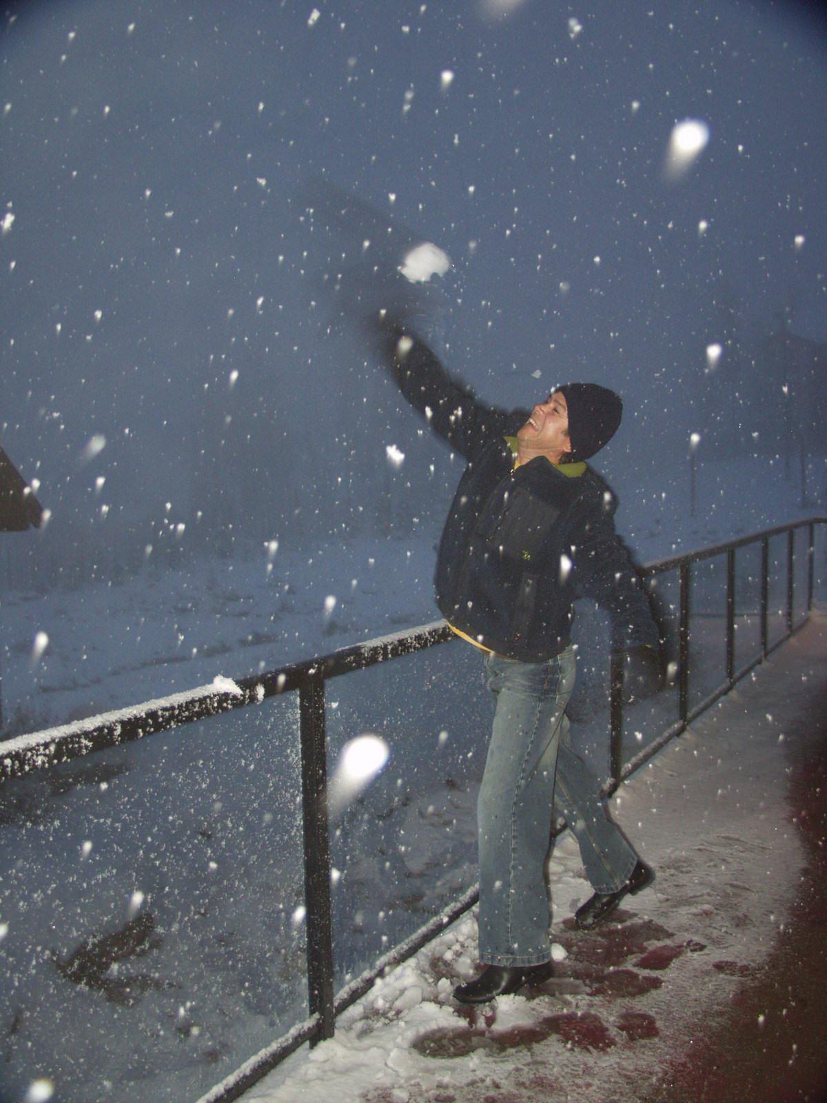 Everyone loves snow!